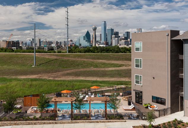 Alexan Trinity Downtown Dallas Texas Furnished Apartments
