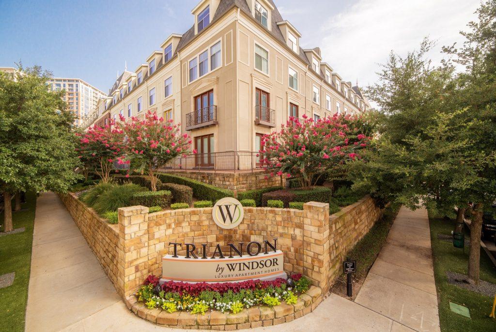 Trianon Windsor Apartments In Uptown Dallas Short Term