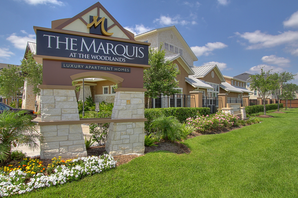 Marquis-Woodlands-Sign