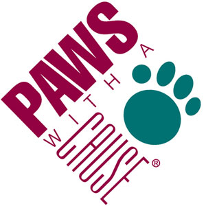 paws with a cause logo