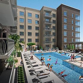 pool-pearl-residences-city-center-houston-murphys-corporate-lodging